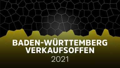 Übersicht der verkaufsoffener Sonntage am 25.07.2021 in Baden-Württemberg