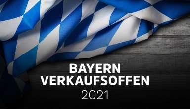 Übersicht der verkaufsoffenen Sonntage in Bayern am 1.8.21