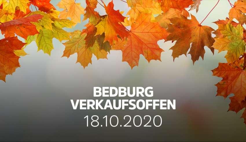 Verkaufsoffener Sonntag in Bedburg NRW