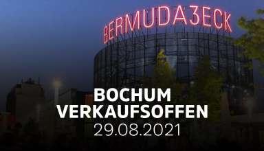 Verkaufsoffener Sonntag am 29.08.21 in Bochum geplant