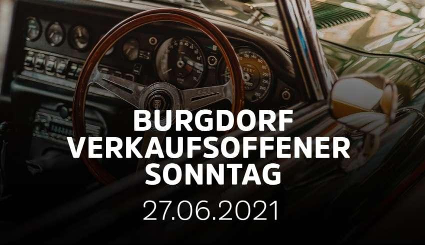Verkaufsoffener Sonntag in Burgdorf mit Automeile und Sommerfest
