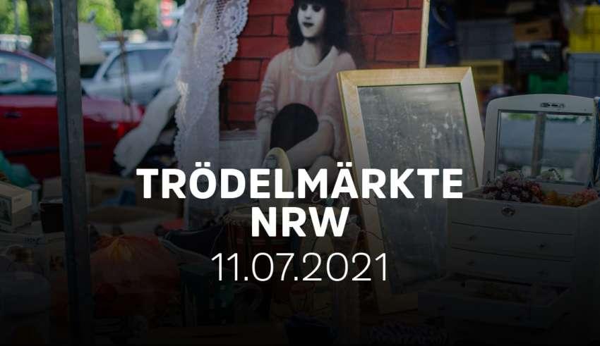 Übersicht der Trödelmärkte und Flohmärkte am 11.7.21