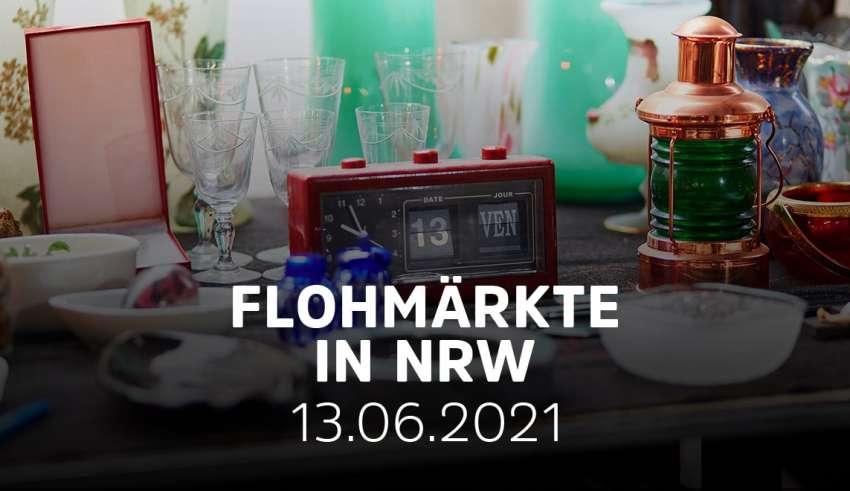 Übersicht Flohmärkte NRW am 13.06.