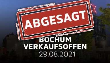 Verkaufsoffener Sonntag Bochum abgesagt