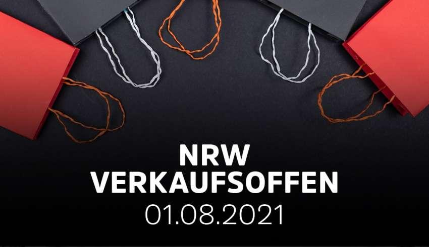 Liste der verkaufsoffenen Sonntage in NRW am 1. August 2021