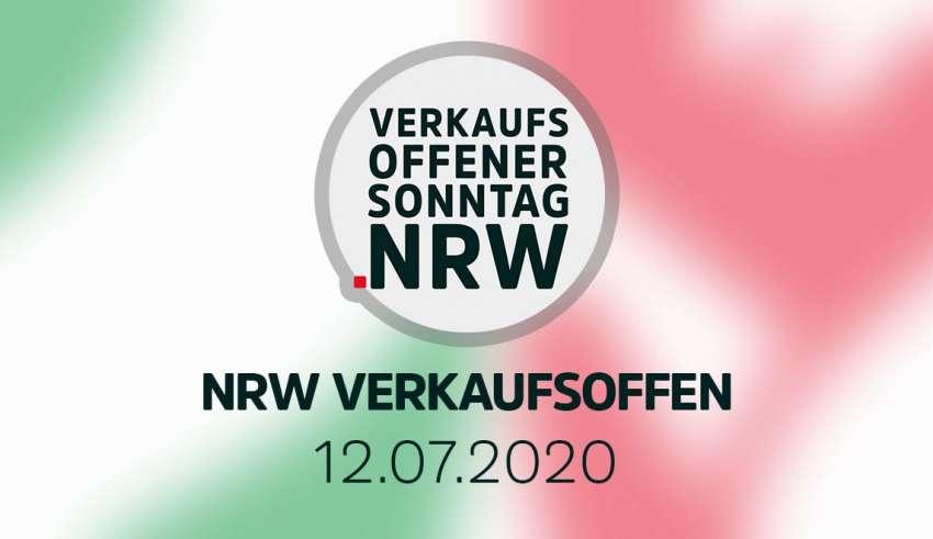 Übersicht der verkaufsoffener Sonntage am 12.07.2020 in NRW