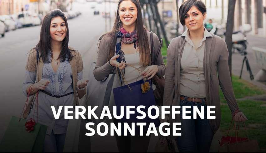 Übersicht der verkaufsoffener Sonntage am 13.06.2021 in NRW