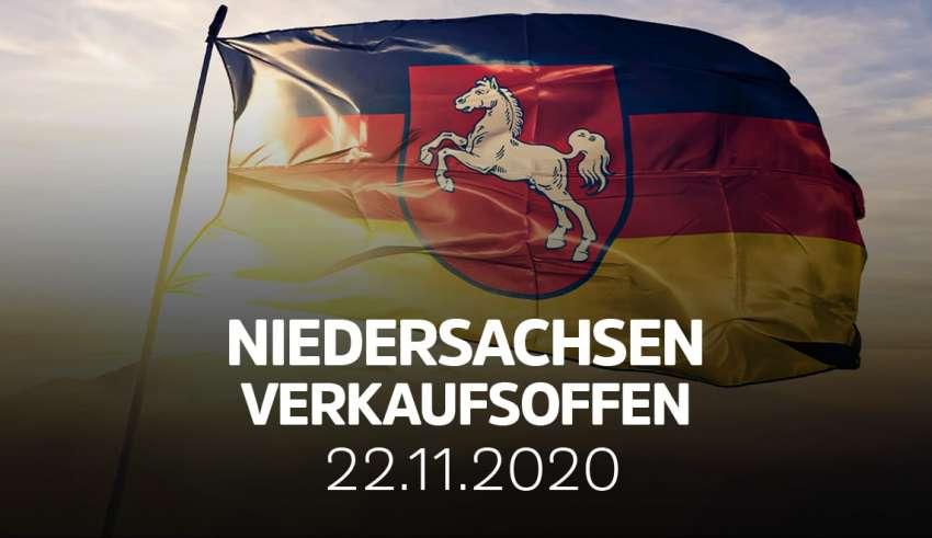 Verkaufsoffener Sonntag in Niedersachsen am 22. November 2020