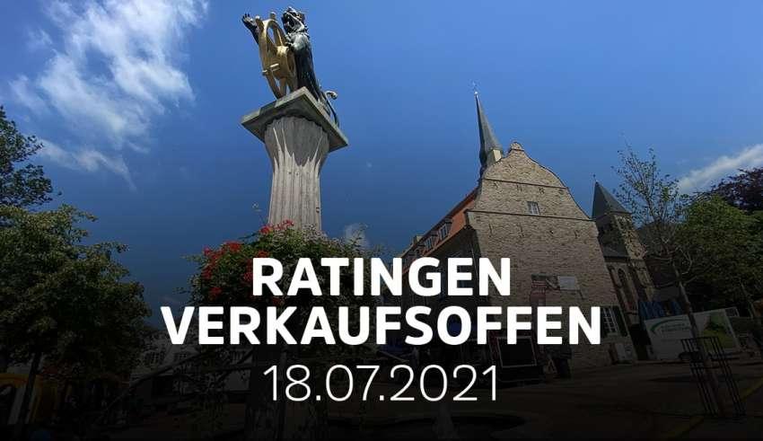 Heute verkaufsoffener Sonntag in Ratingen