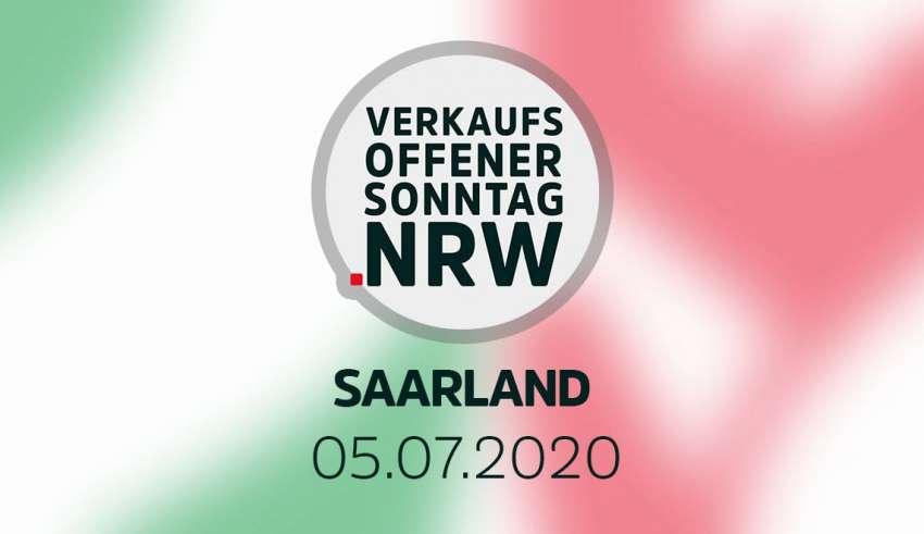 Verkaufsoffener Sonntag am 05.07.2020 im Saarland