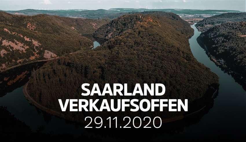 Übersicht der verkaufsoffenen Sonntage im Saarland am 29.11.