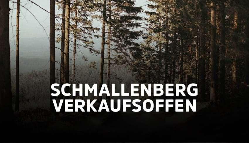 Schmallenberg verkaufsoffen 2021
