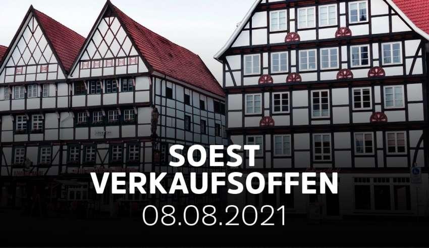 Verkaufsoffener Sonntag in Soest zum Soester Bördetag
