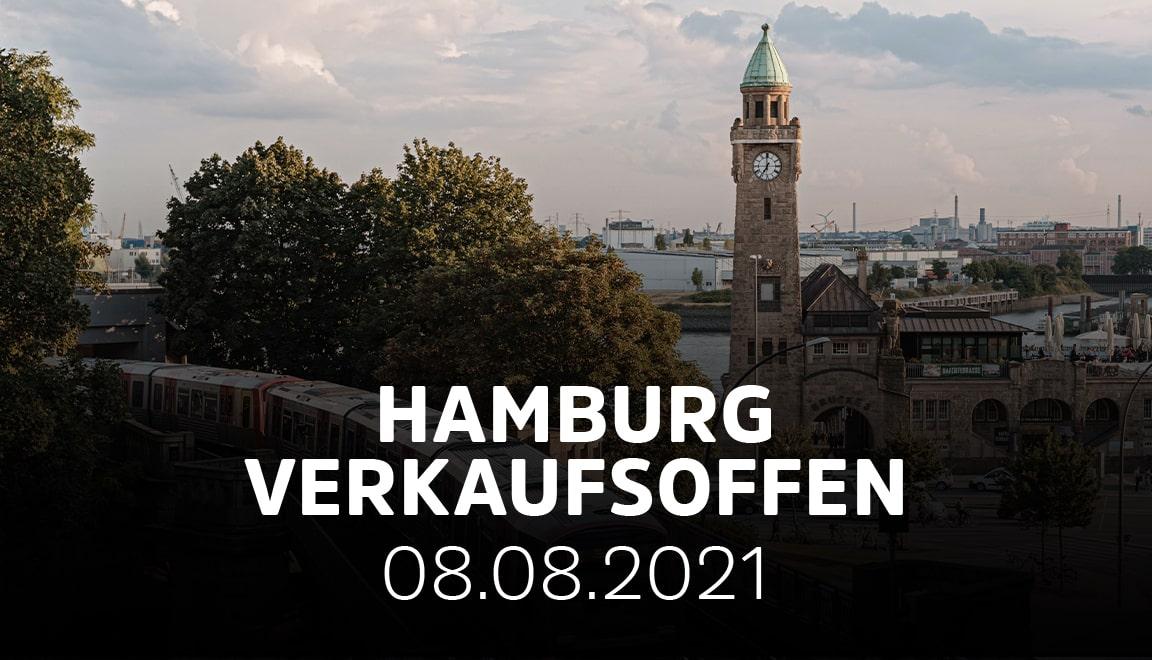 Hamburg - 08.08.21 - Großer verkaufsoffener Sonntag in ...