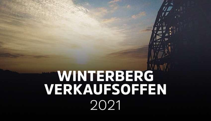 Verkaufsoffener Sonntag in Winterberg im Sauerland 2021