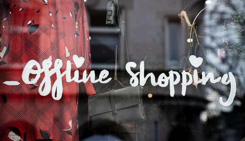 Verkaufsoffener Sonntag - Offline Shopping