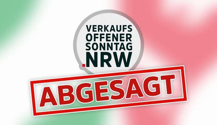 News - Verkaufsoffener Sonntag abgesagt