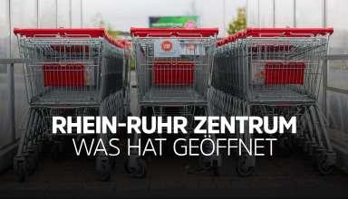 Rhein Ruhr Zentrum Mülheim an der Ruhr - Was hat geöffnet