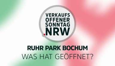 Ruhr Park Bochum - Was hat geöffnet während Corona?