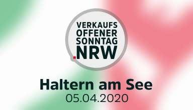 Verkaufsoffene Sonntage am 05.04.2020 in Nordrhein-Westfalen