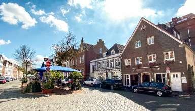 Marktplatz in Düsseldorf-Kaiserswerth