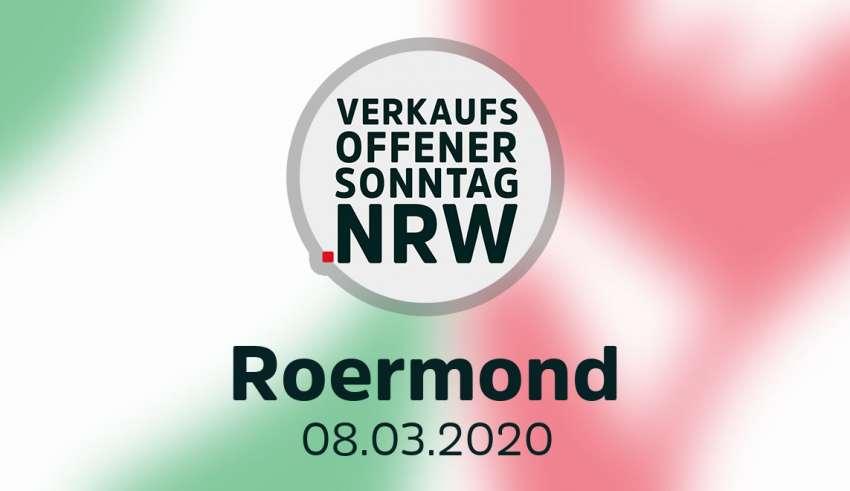 Verkaufsoffener Sonntag Roermond am 08.03.2020