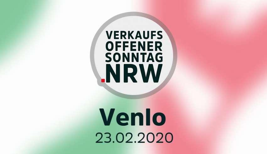 Verkaufsoffener Sonntag in Venlo am 23.02.20