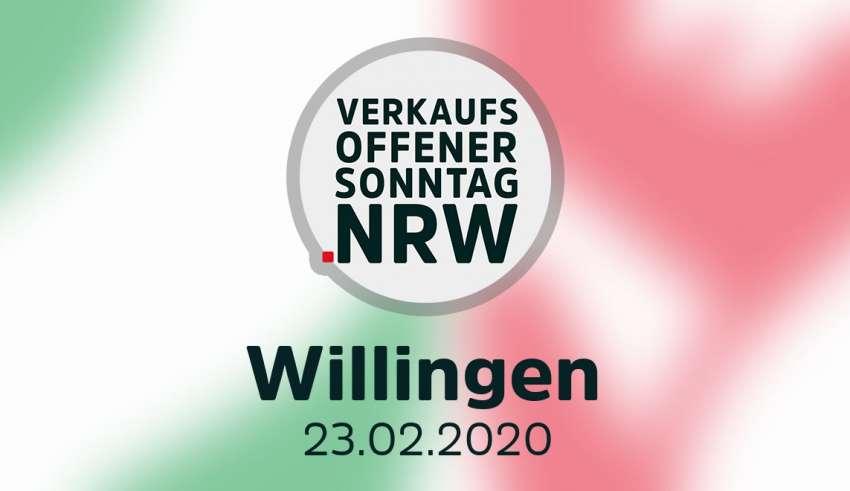 Verkaufsoffener Sonntag in Willingen am 23.02.20