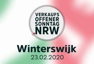 Verkaufsoffener Sonntag in Winterswijk am 23.02.20