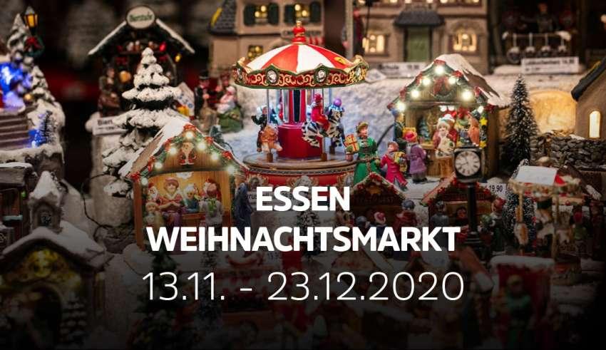 Weihnachtsmarkt in Essen 2020 findet statt