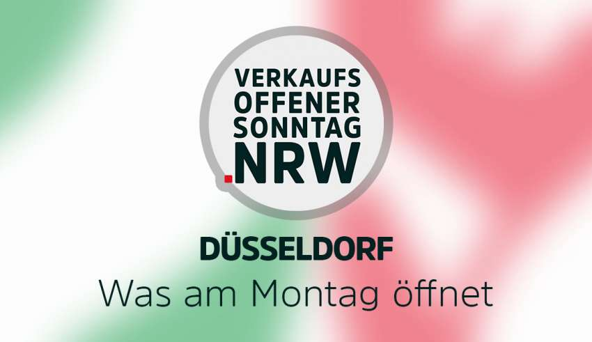 Übersicht der Geschäfte in Düsseldorf die ab Montag geöffnet haben